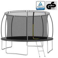 vidaXL Ensemble de trampoline rond 366x80 cm 150 kg