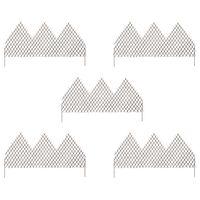 vidaXL Clôtures en treillis de jardin 5 pcs 170x105 cm Saule