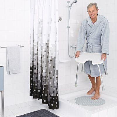 RIDDER Tabouret de baignoire Blanc 110 kg A0050501