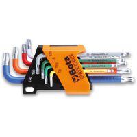 Beta Tools Jeu de clés à tête sphérique 8 pcs 97BTX-C/SC8