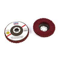 disque de polissage hbm 125 mm et disque de ponçage moyen grossier