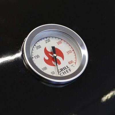 Grillchef Barbecue au charbon 53,5 cm Noir
