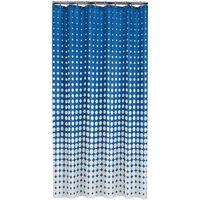 Sealskin Rideau de douche Speckles 180 cm Bleu royal