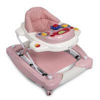 Baninni Trotteur bébé 2 en 1 Classic Rose pastel