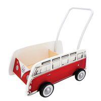 Hape Trotteur Bus Classique T1 Rouge