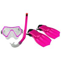 Masque de plongée junior Waimea avec masque/tube respiratoire/palmes