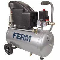 FERM Compresseur 1,5 HP 1100 W 24 L CRM1045