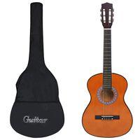 """vidaXL Guitare classique avec sac pour débutants 3/4 36"""""""