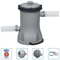 Bestway Pompe de filtration de piscine Flowclear 2006 L/h