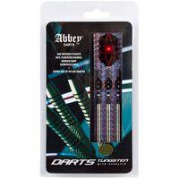 Abbey Darts Set de fléchettes 3 pcs 85 % Tungsten 24 g Argenté
