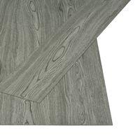 vidaXL Planches de plancher autoadhésives 4,46 m² 3 mm PVC Gris