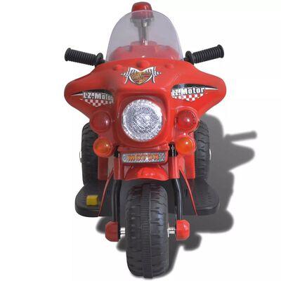 vidaXL Moto à chevaucher sur piles Rouge
