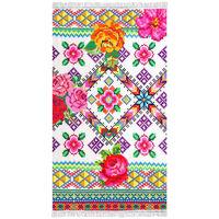Happiness Serviette de plage YUCATAN 100x180 cm Multicolore