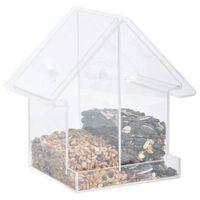 Esschert Design Mangeoire combi de fenêtre Acrylique