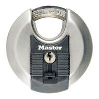 Master Lock Cadenas Disque Excell Acier inox 70 mm M40EURD