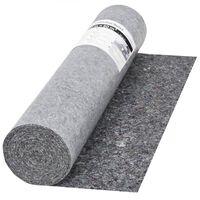vidaXL Bâche de protection contre peinture 50 m 280 g/m² Gris