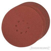 Scheppach Lot de 10 disques de ponçage D 215 mm grain 200