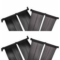 vidaXL Panneaux solaires de chauffage de piscine 4 pcs 80x620 cm