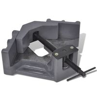 vidaXL Étau d'angle de perceuse à pression manuelle 115 mm