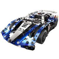 Meccano Ensemble de modèle 25-en-1 Super Car Bleu 6044495