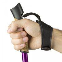 2 Bâtons de marche nordique duralumin violet réglable de 65 à 138 cm