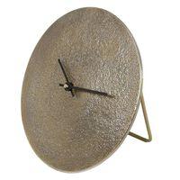 Gifts Amsterdam Horloge de bureau Sun S Aluminium Doré 20 cm