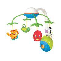 "Bright Starts Mobile musical pour bébés ""Soothing Safari"" Multicolore"