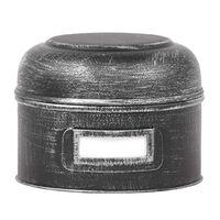 LABEL51 Boîte de rangement 13x13x10 cm S Noir antique