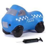 Jamara Jouet rebondissant avec pompe camion de police Bleu