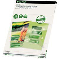 Leitz Pochette de plastification 80 Microns A3 100 pcs