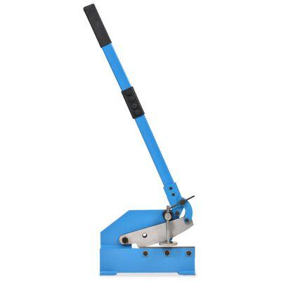 vidaXL Cisaille à levier 200 mm Bleu,