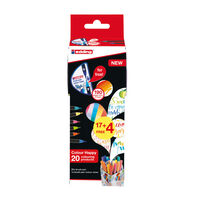 edding Ensemble de feutres pinceaux 21 pcs à mélangeur de couleurs
