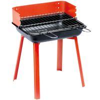 Grillchef Barbecue de camping PortaGo 33 x 26 cm Rouge