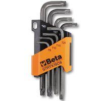 Beta Tools 8 clés torx 97RTX/SC8 Acier 000970263