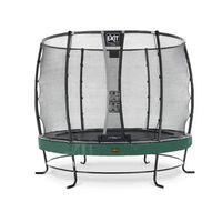Trampoline Exit Elegant Premium 305 Vert + Filet De Securite Deluxe