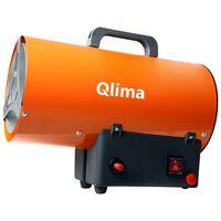 Qlima Aérotherme forcée au gaz GFA 1010 25 W Orange
