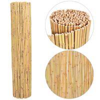 vidaXL Clôture en bambou 300x130 cm