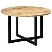 vidaXL Table de salle à manger 120x73 cm Bois de manguier solide