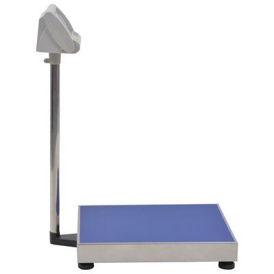 vidaXL Balance à plate-forme numérique 300 kg Batterie rechargeable