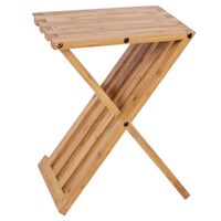 Bo-Camp Table d'appoint pliable Lambeth 28x33x42 cm Bambou
