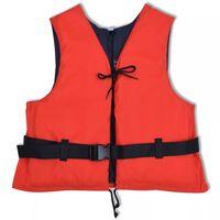 vidaXL Aide à la flottabilité 50 N 70-90 kg rouge
