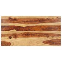 vidaXL Dessus de table Bois solide 25-27 mm 60x100 cm