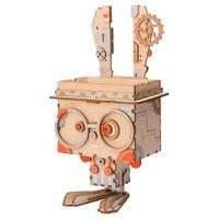 Robotime Kit de construction de pot de fleurs Bunny