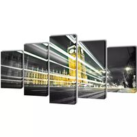 Set de toiles murales imprimées London Big Ben 200 x 100 cm