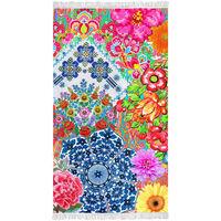 Happiness Serviette de plage ZAIRA 100x180 cm Multicolore