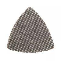 10 triangles abrasifs treillis autoagrippants 105 mm grain 120