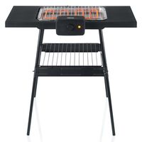 Tristar Barbecue électrique de table avec support BQ-2870 Noir 2000 W