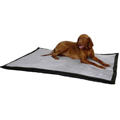 Kerbl Couverture de voyage pour chiens 140 x 100 cm Gris et Noir 81265