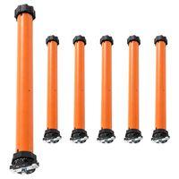 vidaXL Moteurs tubulaires 6 pcs 30 Nm