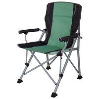 Eurotrail Chaise de camping Bolzano Vert mer